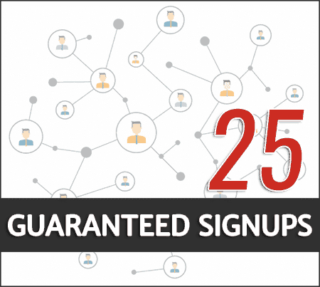 buy guaranteed signups