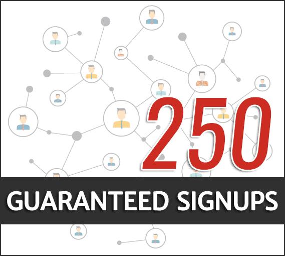 guaranteed signups