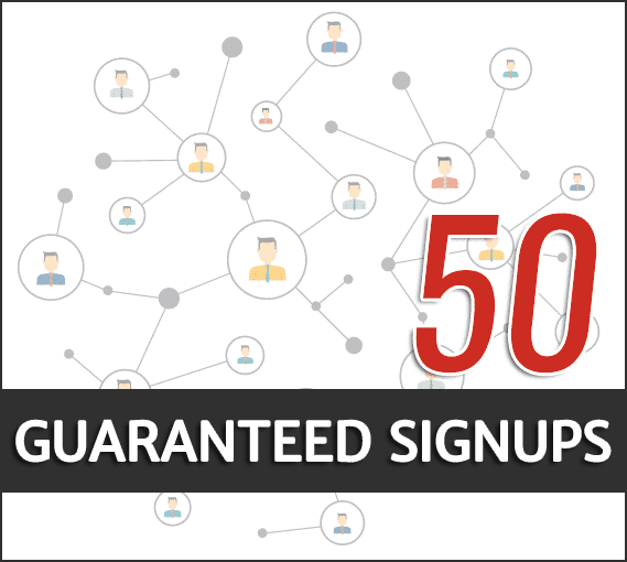 guaranteed signups