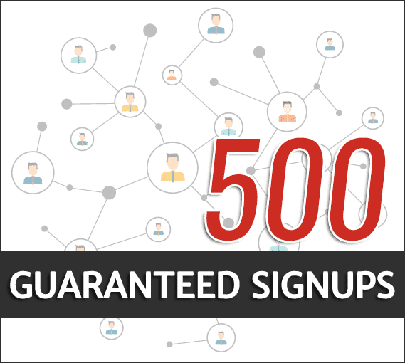 best guaranteed signups
