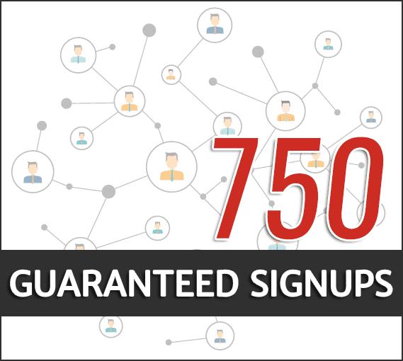best guaranteed signups